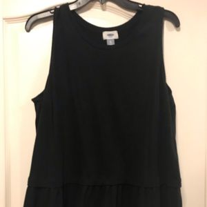 Old Navy tank top with fluted bottom XL
